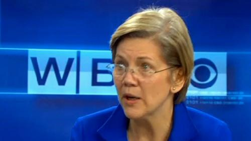 Warren Blasts Government Profits From Student Loans