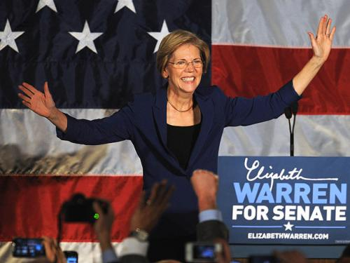 Warren Pens Book About Life, Senate Work