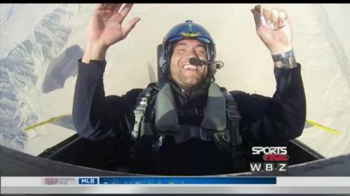 WATCH: Hoomanawanui's Flight With Navy's Blue Angels