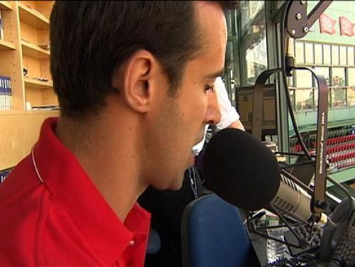 WBZ-TV's David Wade Gets Turn As Red Sox PA Announcer Friday Night