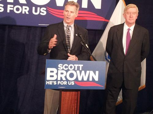 Weld Endorses Brown, Caroline Kennedy Backs Warren