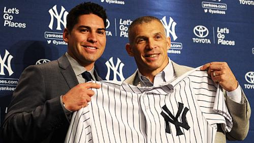 Yankees Introduce Ellsbury: 'They Wanted Me From The Get-Go'