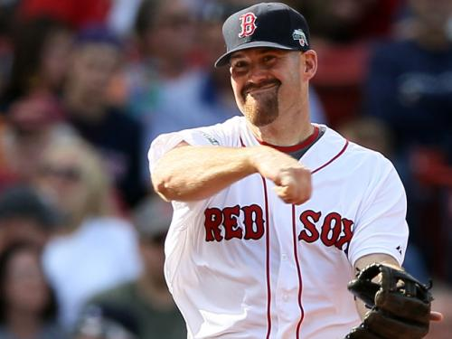 Youkilis Plays Third, Goes 1-for-3 With PawSox